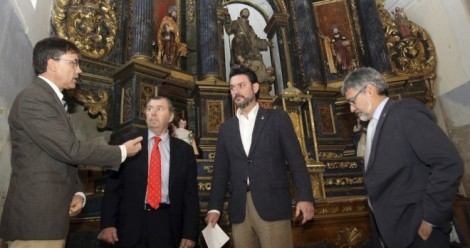 El director general de Patrimonio Cultural, Enrique Sáiz Martín, en la clausura del curso/ R.Blanco